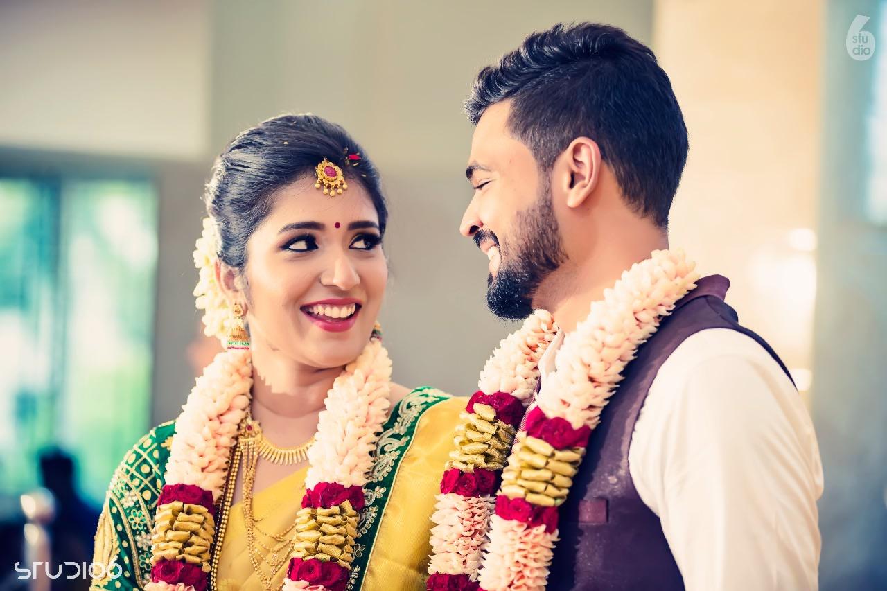 Bride and Groom Portrait by Chennai Wedding Photography Wedding-photography | Weddings Photos & Ideas