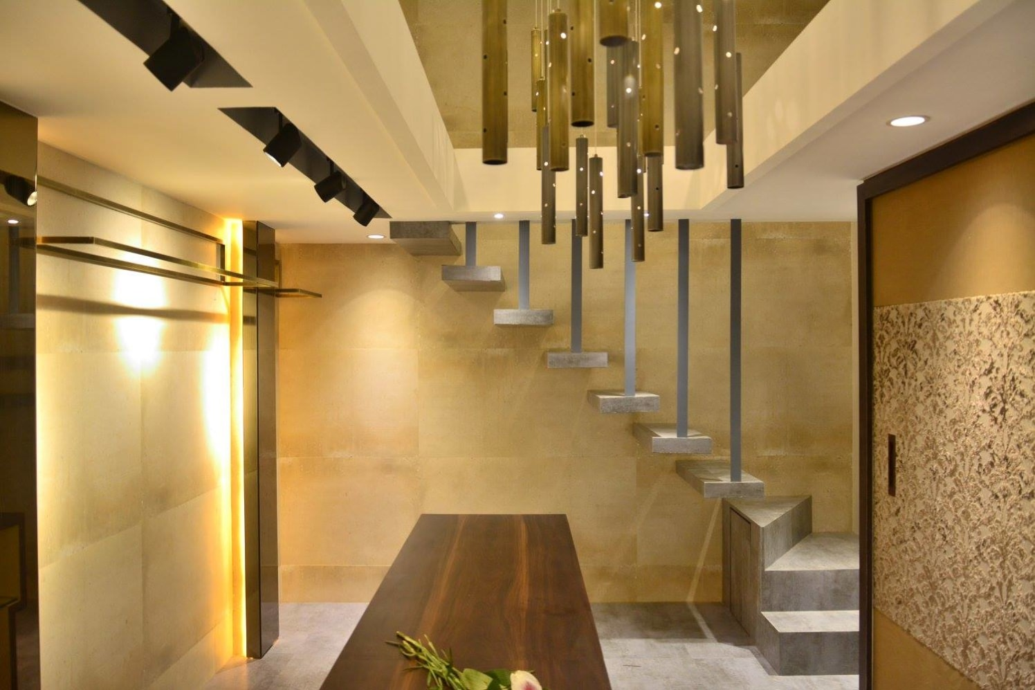 Modern Hallway With Staircase by Limited Edition Design Studio Indoor-spaces Modern | Interior Design Photos & Ideas