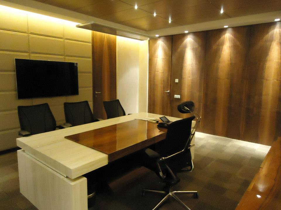 Light Brown Textured Office Cabinet by Limited Edition Design Studio Modern   Interior Design Photos & Ideas