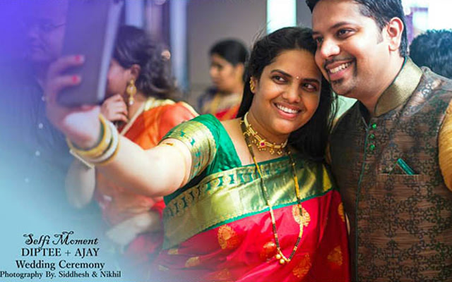 Wedding guests selfie shot by Clicks of Life Wedding-photography | Weddings Photos & Ideas