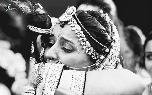 Bridal tender moments shot by Clicks of Life Wedding-photography | Weddings Photos & Ideas