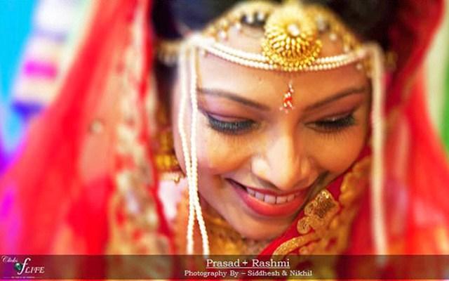 The shy bride shot by Clicks of Life Wedding-photography | Weddings Photos & Ideas