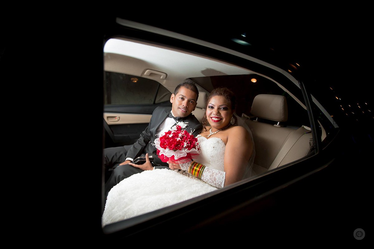 Couple in car by Fahim Sayed Wedding-photography | Weddings Photos & Ideas