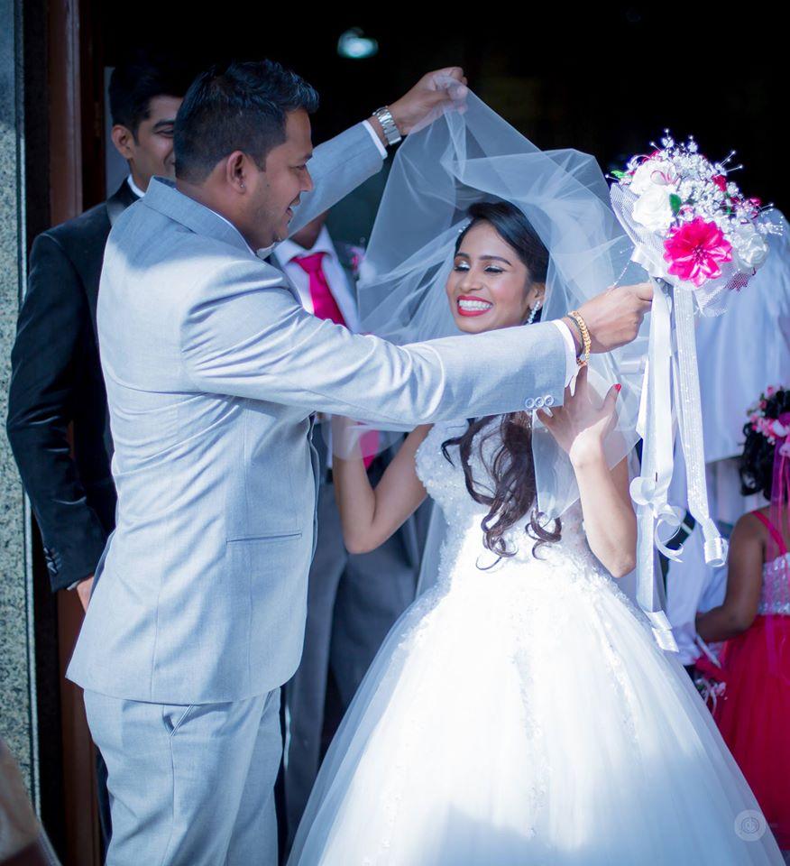 Christian bride and groom by Fahim Sayed Wedding-photography | Weddings Photos & Ideas