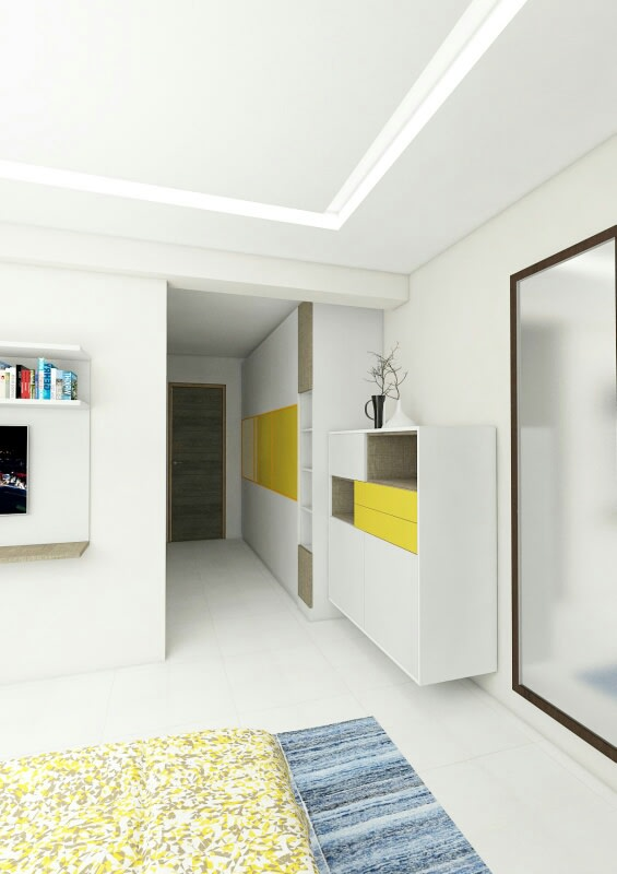 Simple Hallway! by Synergy Ash Architects