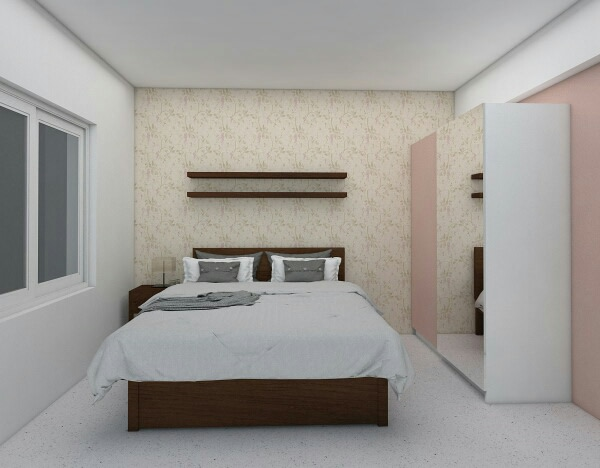 Simple Bedroom Design! by Synergy Ash Architects Bedroom | Interior Design Photos & Ideas