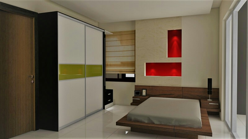 Contemporary and modern  bedroom! by Synergy Ash Architects Bedroom | Interior Design Photos & Ideas