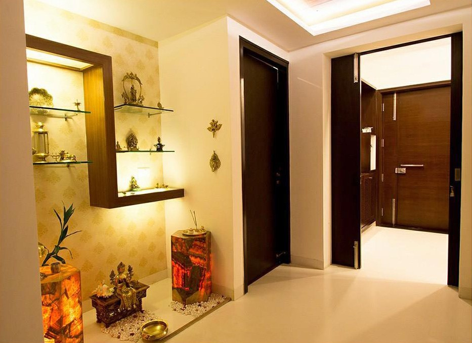 Pooja Room. by Prashant Sharma Indoor-spaces Traditional | Interior Design Photos & Ideas
