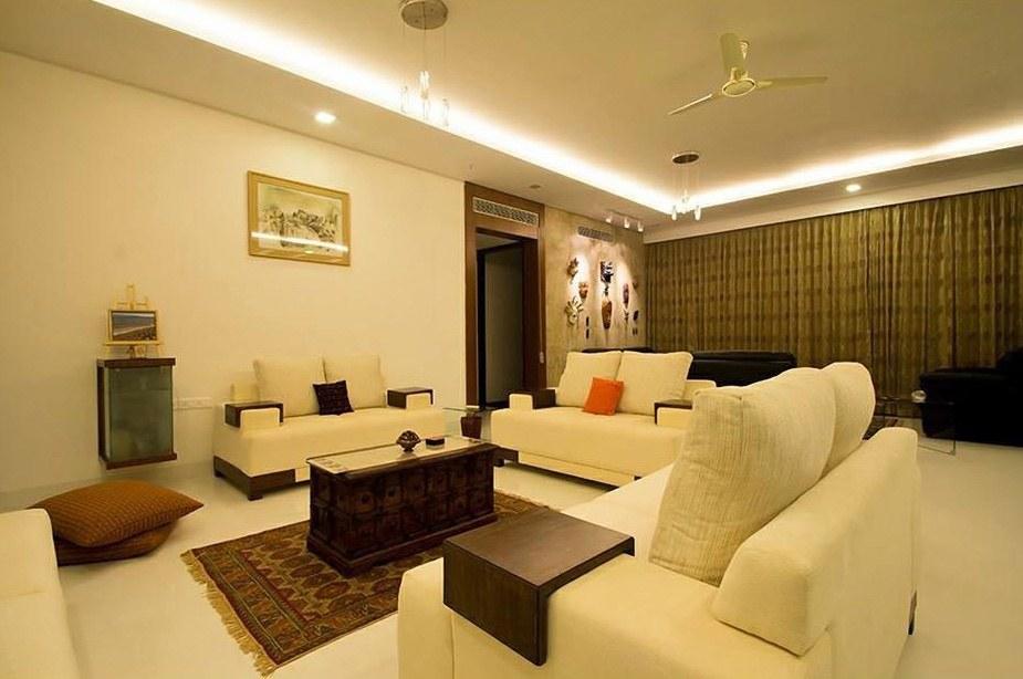 Simplicity At its Best. by Prashant Sharma Living-room Modern | Interior Design Photos & Ideas