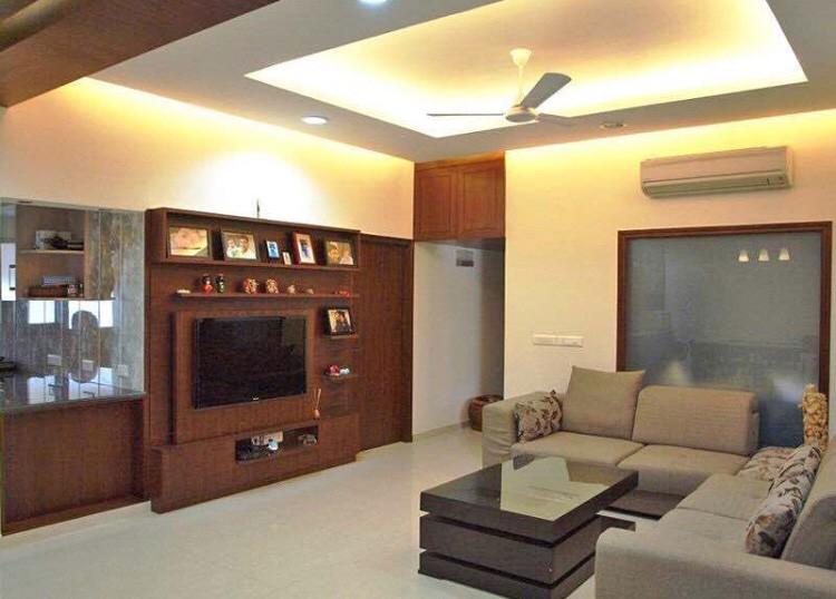 Modern Living Room. by Prashant Sharma Living-room Modern | Interior Design Photos & Ideas