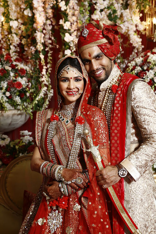 Cute wedding day couple by pankaj Bhatia Wedding-photography | Weddings Photos & Ideas