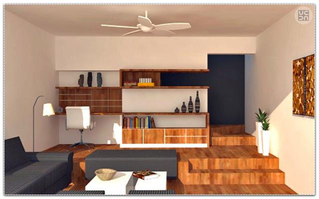 A contemporary living room! by Solid Bare Architecture Studio Living-room   Interior Design Photos & Ideas