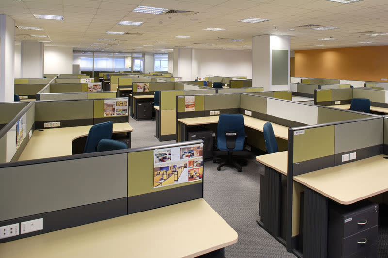 Cellular Office Design. by SNC Design Studio Modern | Interior Design Photos & Ideas