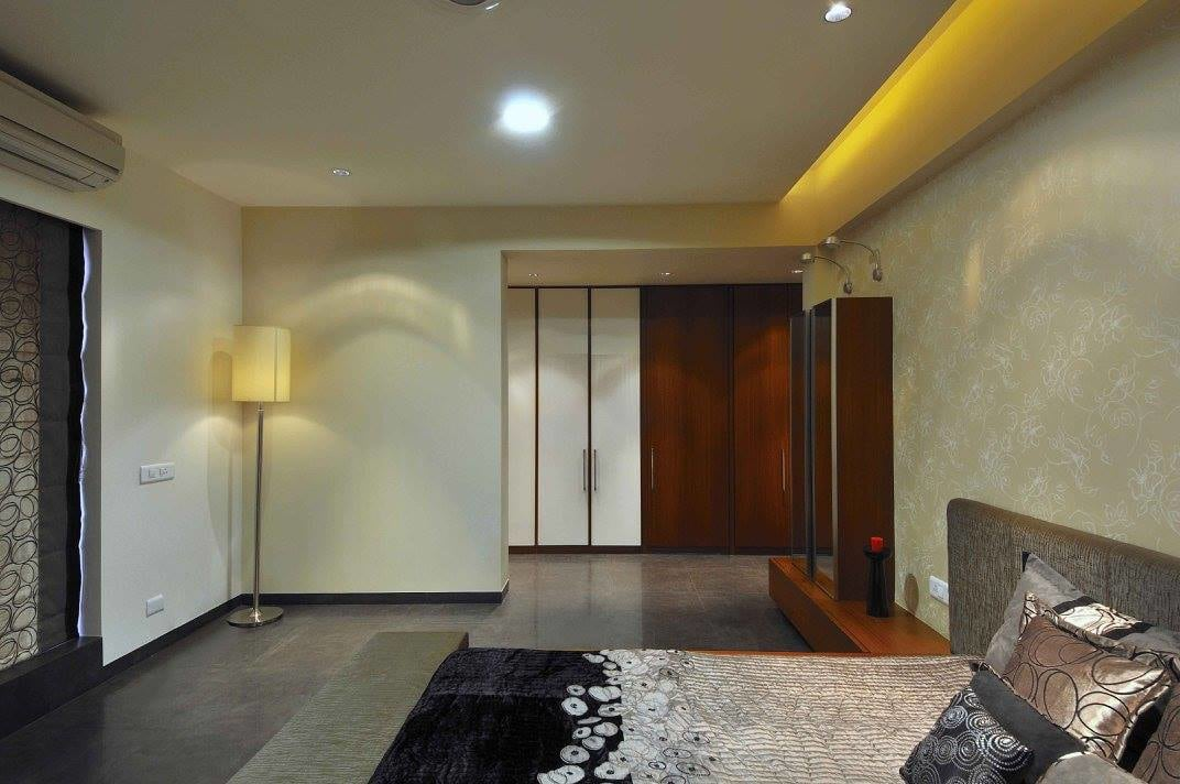 Master bedroom with marble flooring by Midas Dezign - The Golden Touch Bedroom Modern | Interior Design Photos & Ideas