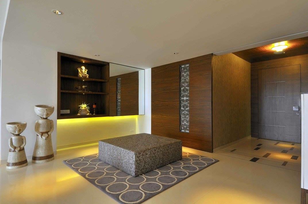 A premium entrance by Midas Dezign - The Golden Touch Indoor-spaces Contemporary | Interior Design Photos & Ideas
