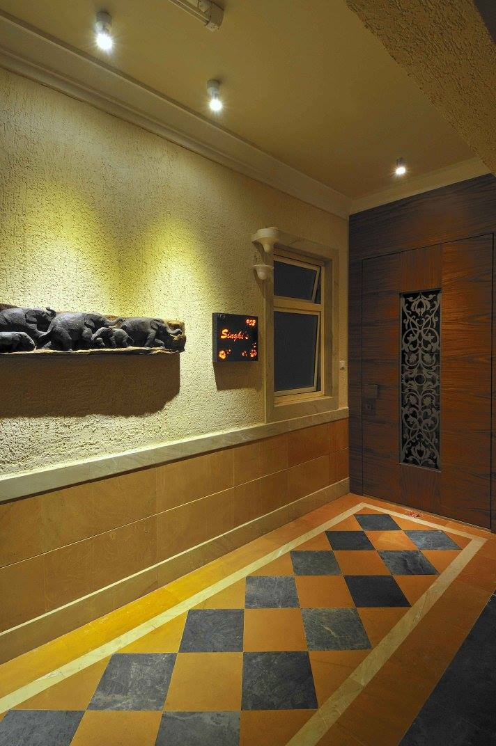 Contemporary entrance by Midas Dezign - The Golden Touch Indoor-spaces Contemporary | Interior Design Photos & Ideas