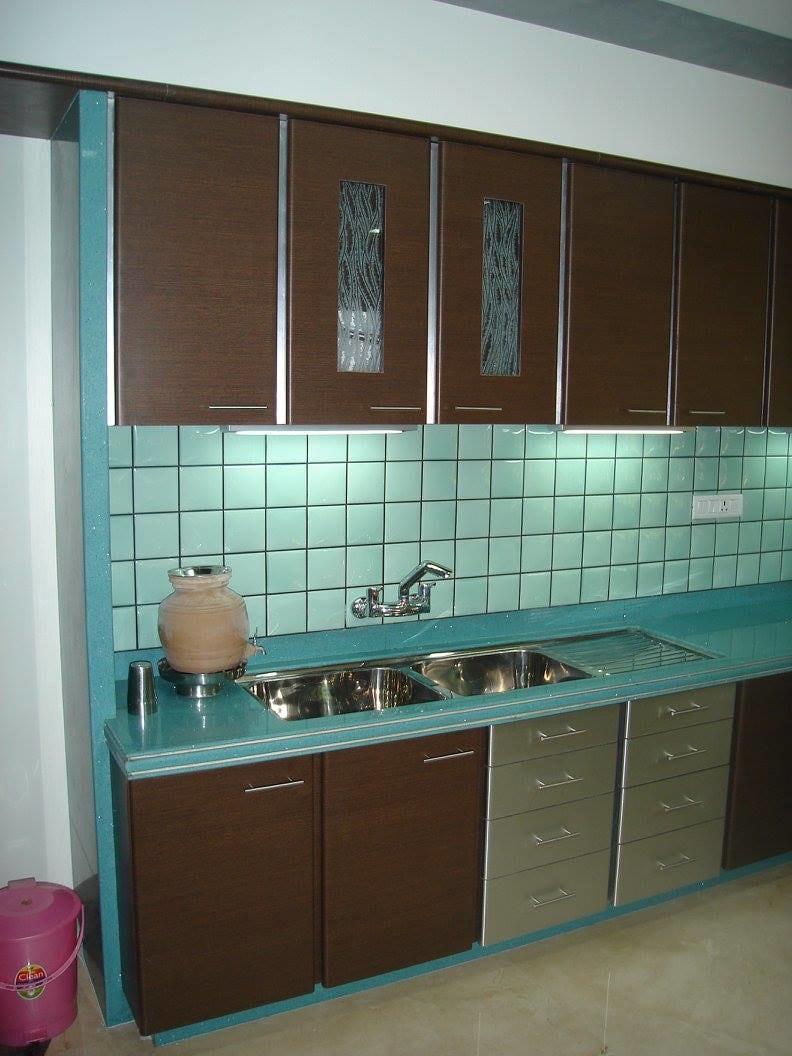 Modular kitchen by Midas Dezign - The Golden Touch Modular-kitchen Modern | Interior Design Photos & Ideas