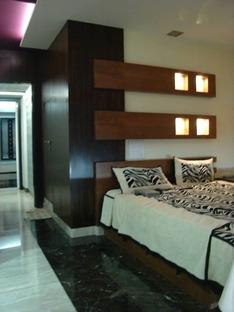 Bedroom with marble flooring by Midas Dezign - The Golden Touch Contemporary | Interior Design Photos & Ideas