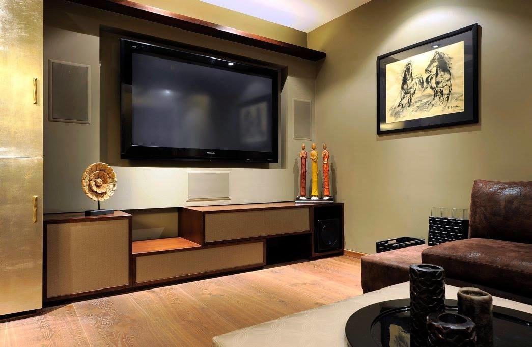 Contemporary living room with tv unit by Midas Dezign - The Golden Touch Living-room Contemporary | Interior Design Photos & Ideas