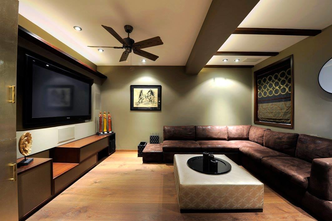 Contemporary living room with wooden flooring by Midas Dezign - The Golden Touch Living-room Contemporary | Interior Design Photos & Ideas