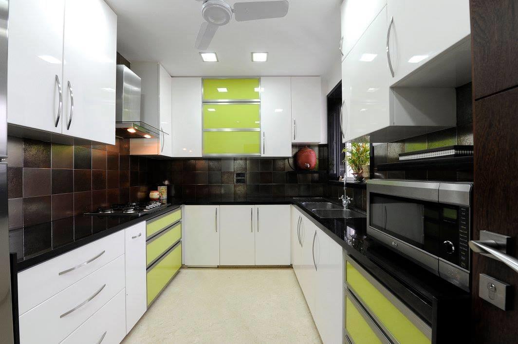 Modular U shaped kitchen by Midas Dezign - The Golden Touch Modular-kitchen Modern | Interior Design Photos & Ideas