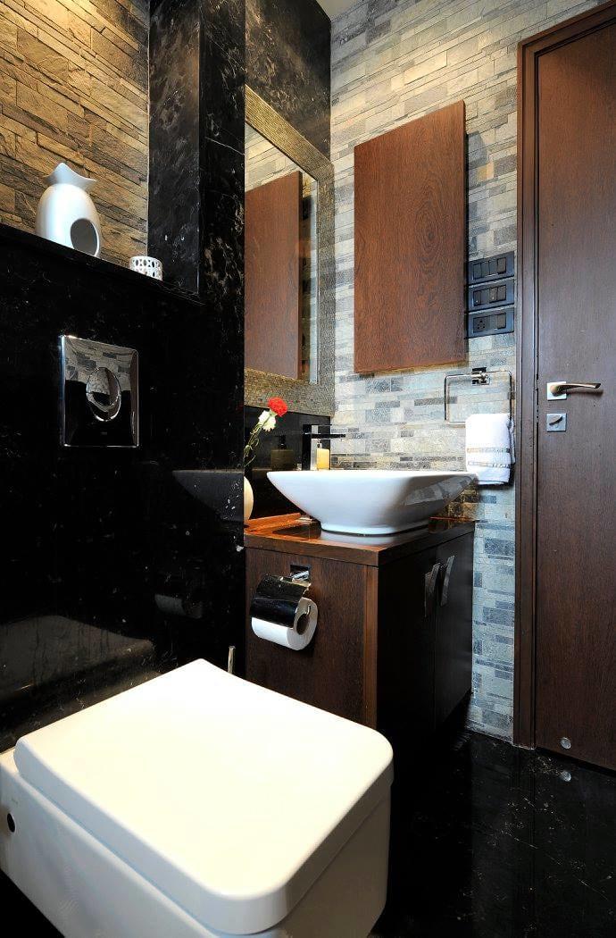 Modern bathroom with fittings by Midas Dezign - The Golden Touch Bathroom Modern   Interior Design Photos & Ideas