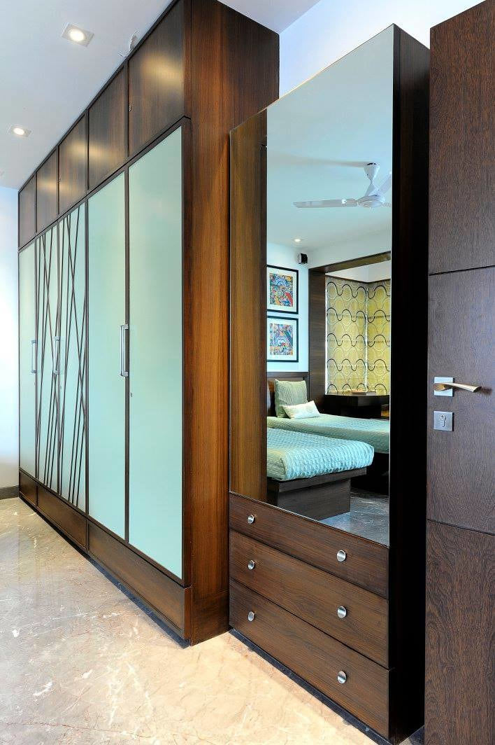 Guest room wardrobe by Midas Dezign - The Golden Touch Bedroom Contemporary | Interior Design Photos & Ideas