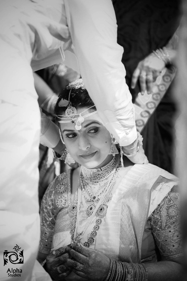 Candid Bride Shot by ALPHA STUDIOS Wedding-photography | Weddings Photos & Ideas