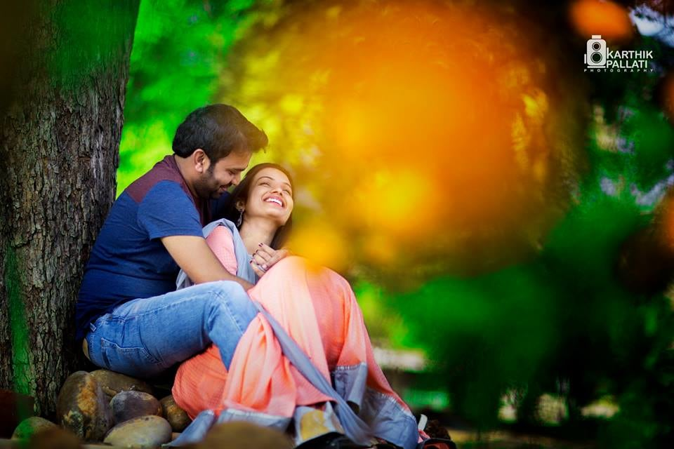 Couple in the woods for pre-wedding shoot! by Kkarthik Pallati photography Wedding-photography | Weddings Photos & Ideas