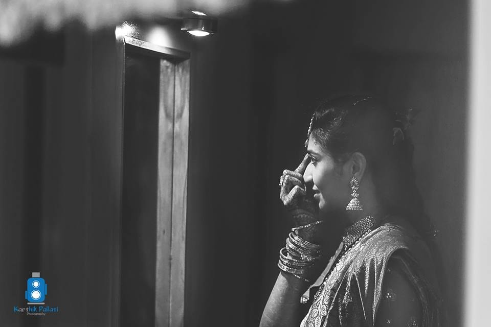 Bride getting ready for her wedding! by Kkarthik Pallati photography Wedding-photography | Weddings Photos & Ideas
