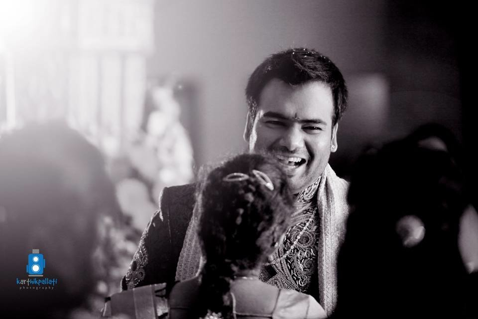 A happy groom! by Kkarthik Pallati photography Wedding-photography | Weddings Photos & Ideas
