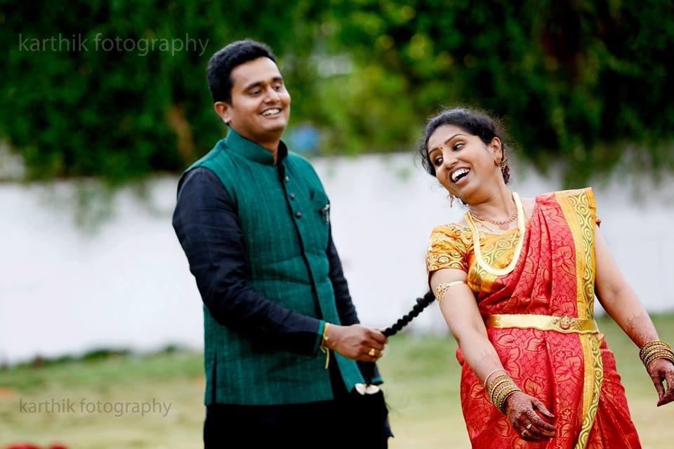 A playful couple! by Kkarthik Pallati photography Wedding-photography | Weddings Photos & Ideas
