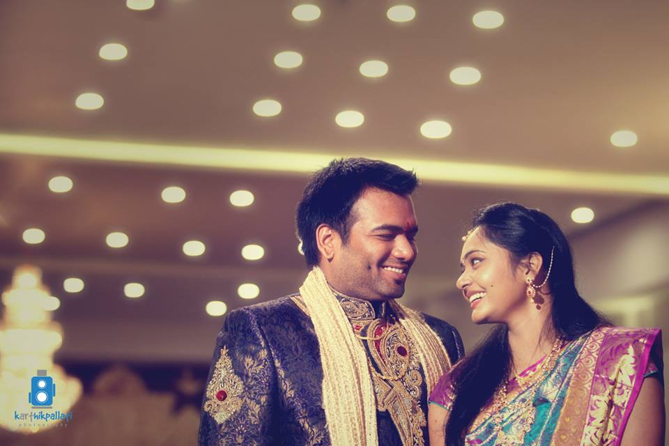A happy couple! by Kkarthik Pallati photography Wedding-photography | Weddings Photos & Ideas