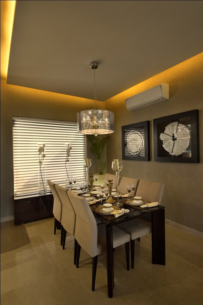 Fine Dine by shailendra m prasad  Dining-room Modern Modern | Interior Design Photos & Ideas