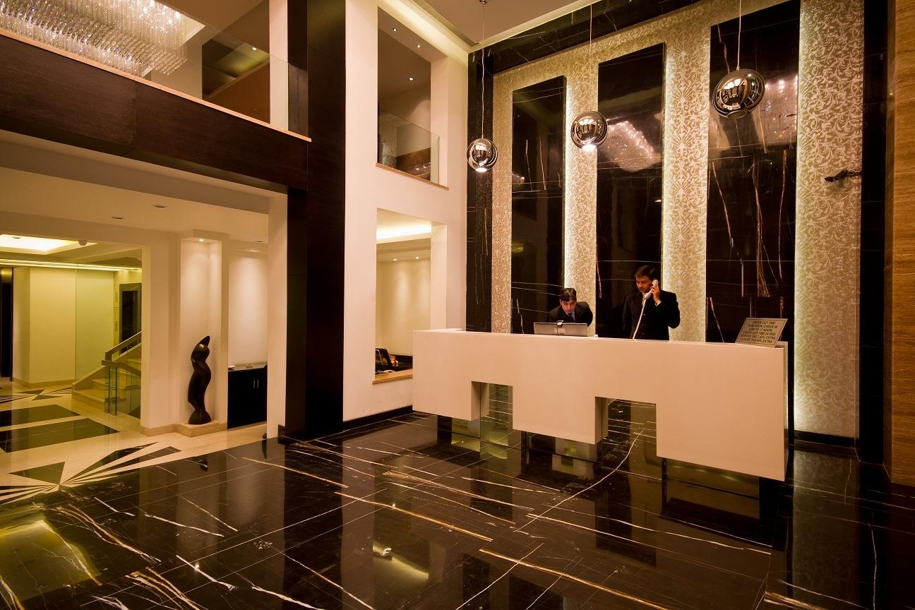 Reception Area by shailendra m prasad  Modern | Interior Design Photos & Ideas