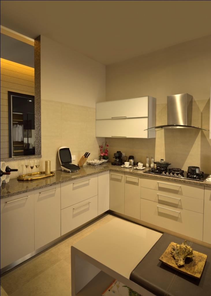 Modern Modular Kitchen by shailendra m prasad  Modular-kitchen Modern Modern | Interior Design Photos & Ideas