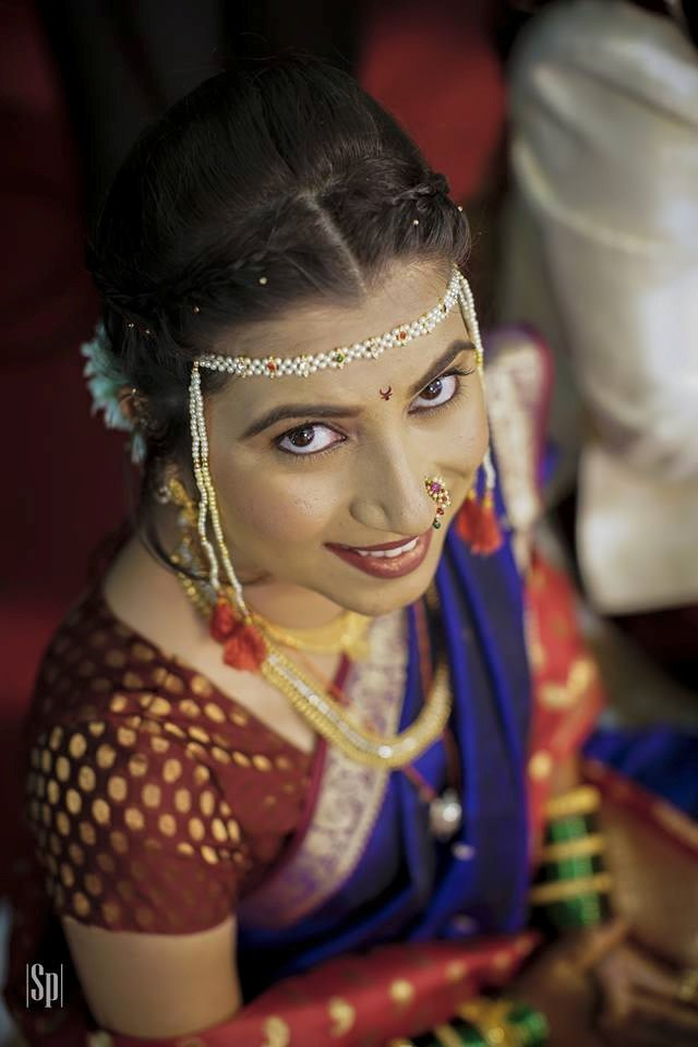 Marathi bride closeup shot by Soulmates-The Wedding Tale Wedding-photography | Weddings Photos & Ideas