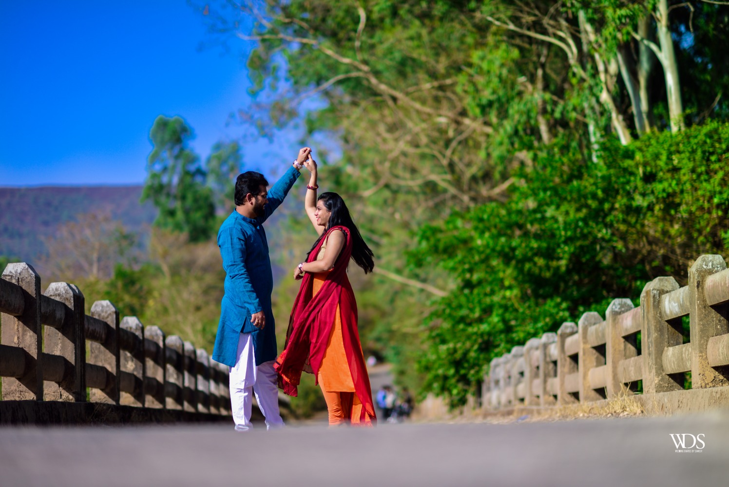 Romantic Stylized Pre-Wedding Shoot by Sameer Panchpor Wedding-photography | Weddings Photos & Ideas