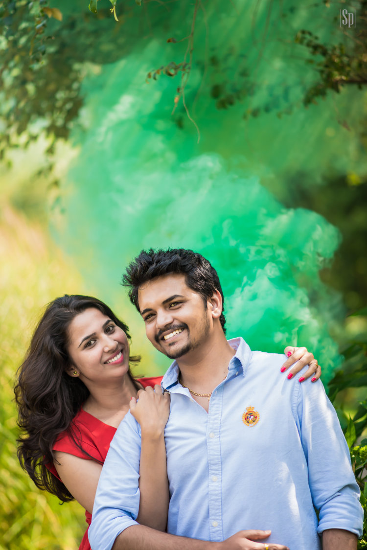 Pre Wedding Colorblast  Shot by Sameer Panchpor Wedding-photography | Weddings Photos & Ideas