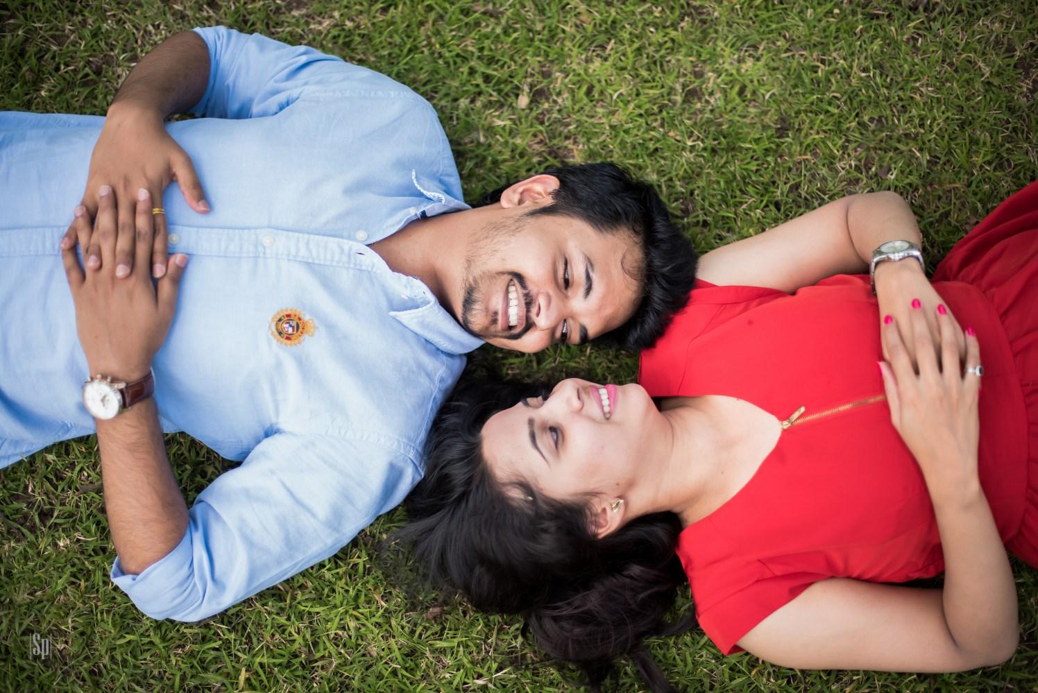 Stylized Romantic Pre-Wedding Shoot In A Lush Green Garden by Sameer Panchpor Wedding-photography | Weddings Photos & Ideas