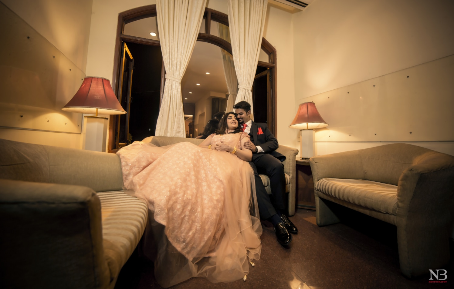 Engagement Shoot In A Lavished Interior by Nikhil Y. Bharane Wedding-photography | Weddings Photos & Ideas