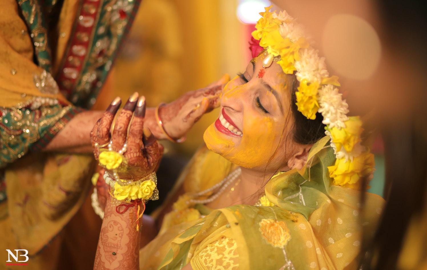 Varied Hues Of Haldi Ceremony by Nikhil Y. Bharane Wedding-photography | Weddings Photos & Ideas