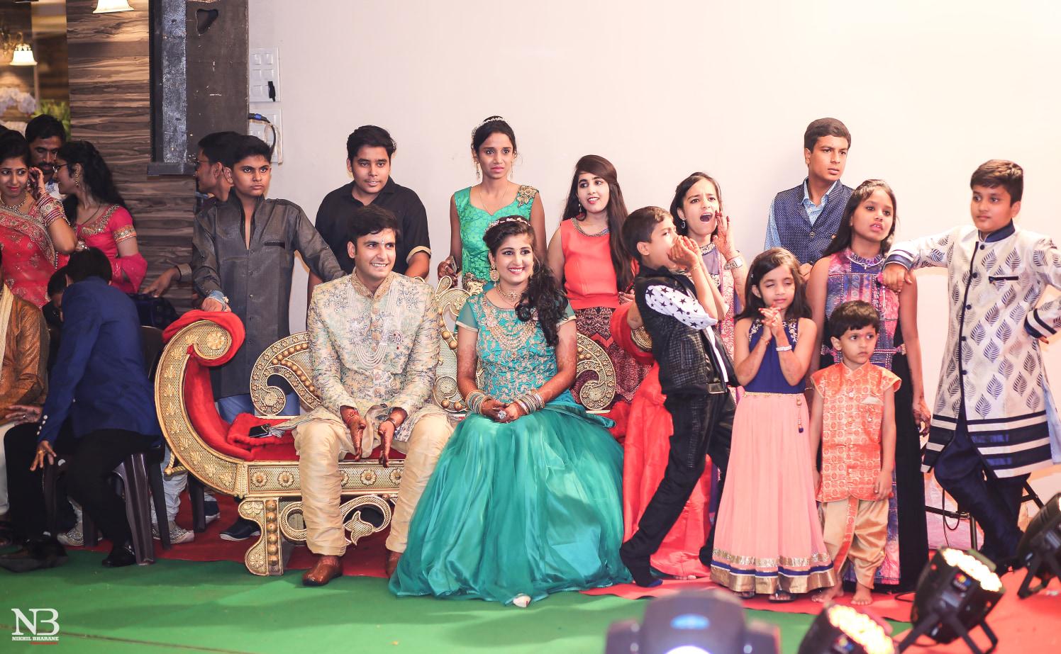 Traditional Shot Of Bridegroom During Wedding Reception by Nikhil Y. Bharane Wedding-photography | Weddings Photos & Ideas