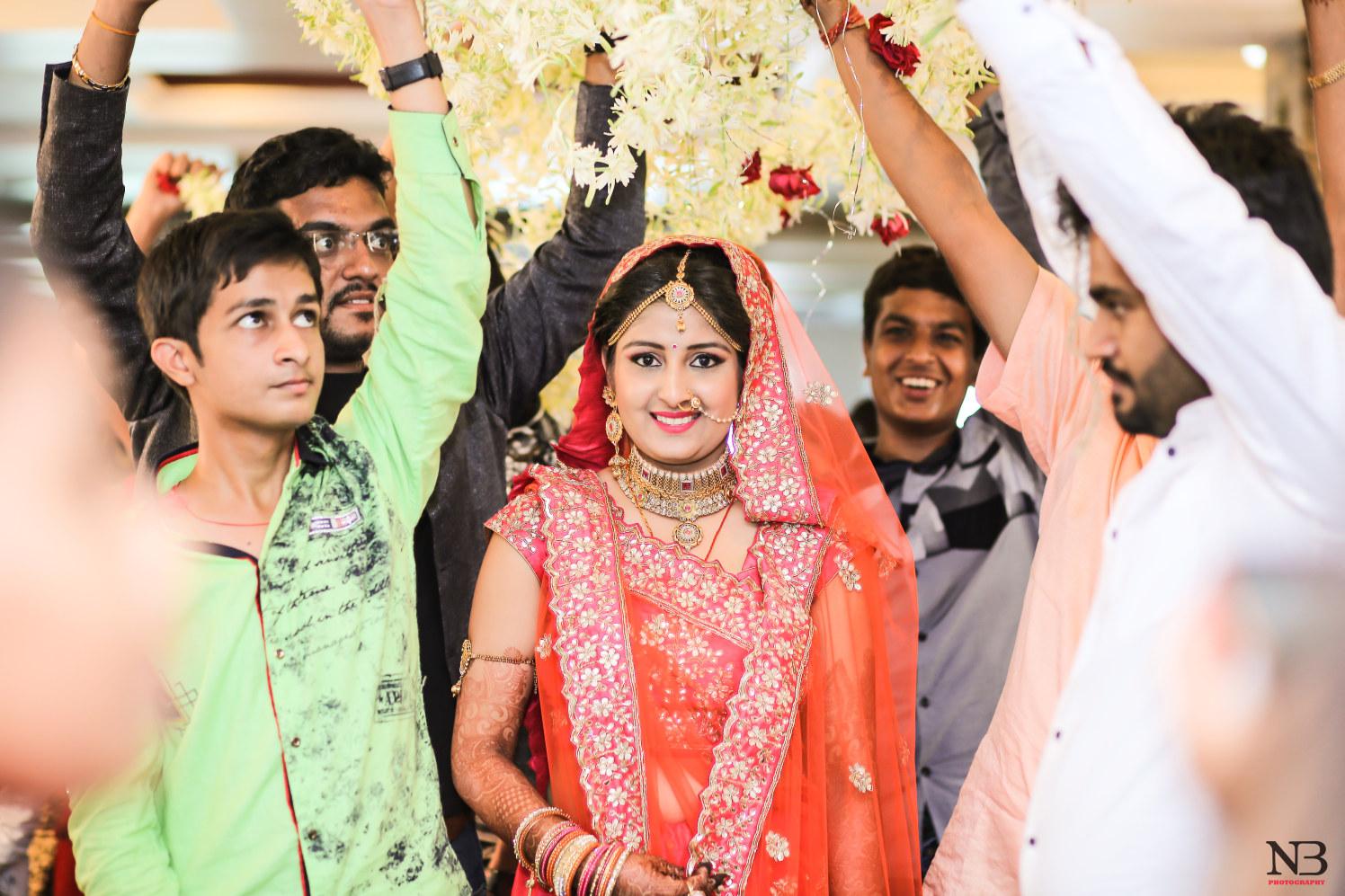 Traditional Indian Bride Ingress by Nikhil Y. Bharane Wedding-photography | Weddings Photos & Ideas