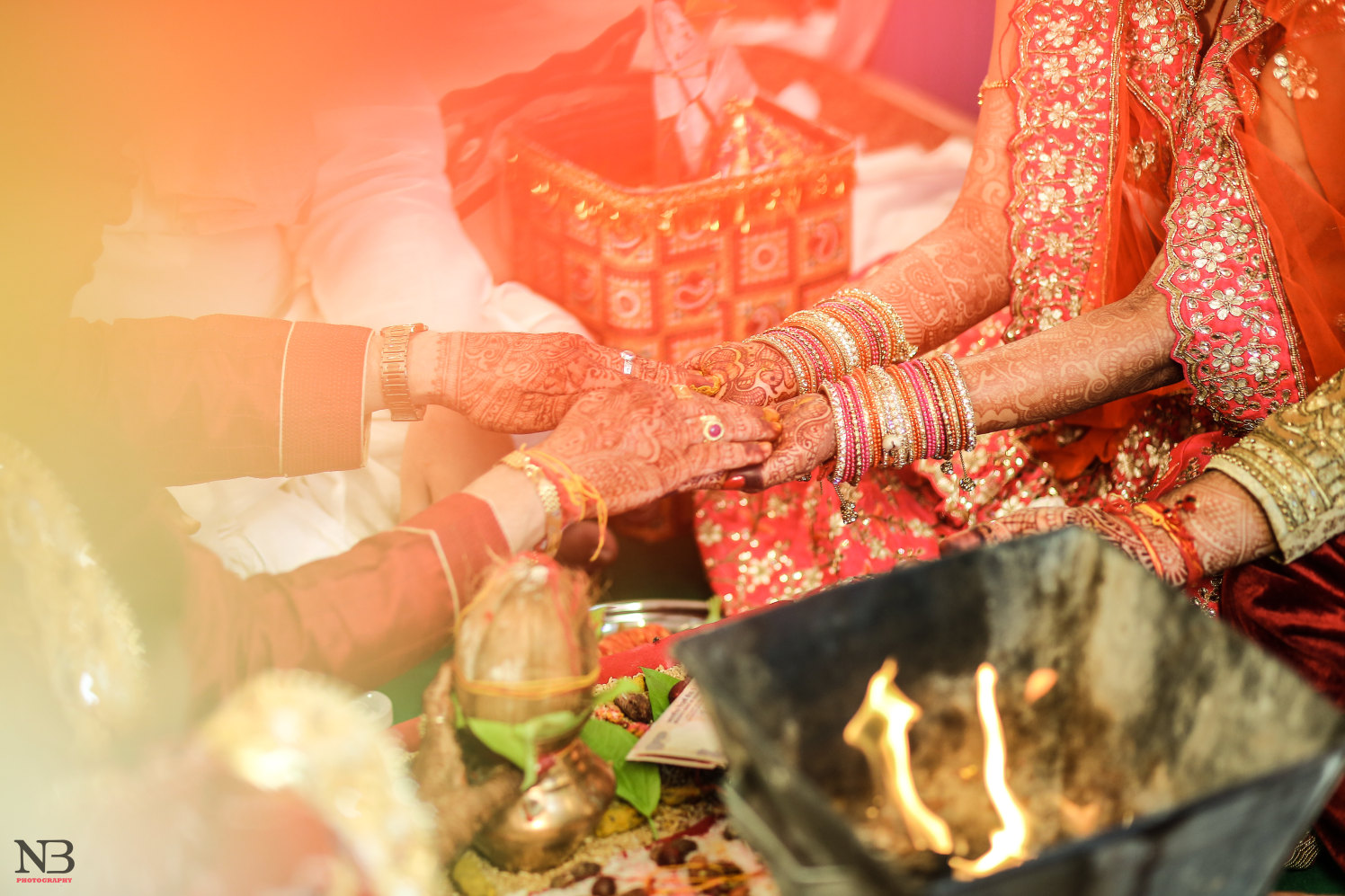 Special tradtions wedlock shot by NB Photography Wedding-photography Bridal-mehendi Bridal-jewellery-and-accessories | Weddings Photos & Ideas