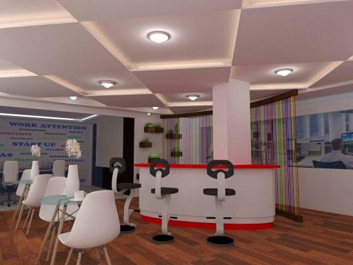 Modern Office Reception by avinash penjuru  Modern | Interior Design Photos & Ideas