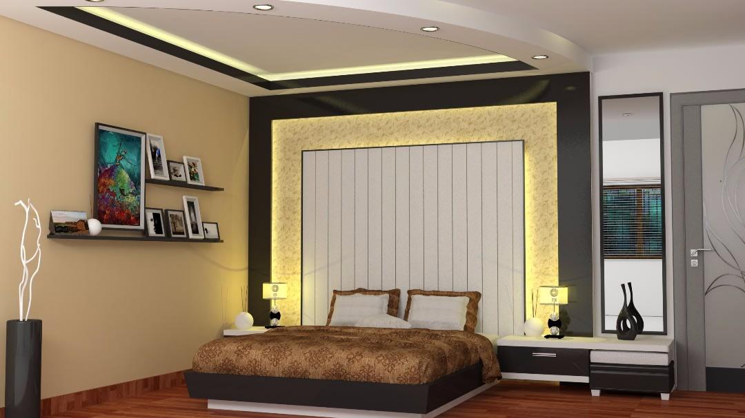 Master Bedroom Decor by avinash penjuru  Bedroom Modern   Interior Design Photos & Ideas