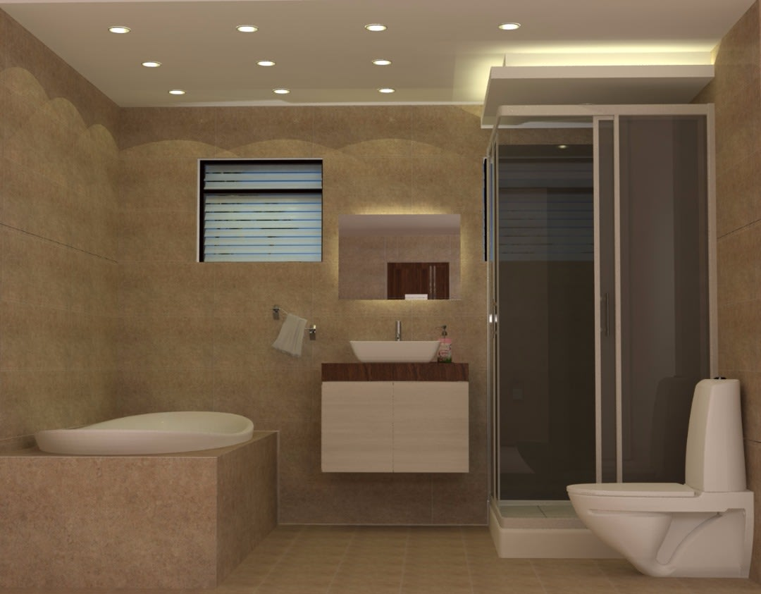 Modern Bathroom Decor by avinash penjuru  Bathroom Modern | Interior Design Photos & Ideas