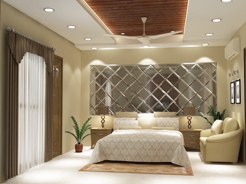 Bedroom with marble flooring by SA Design Group Bedroom Contemporary | Interior Design Photos & Ideas