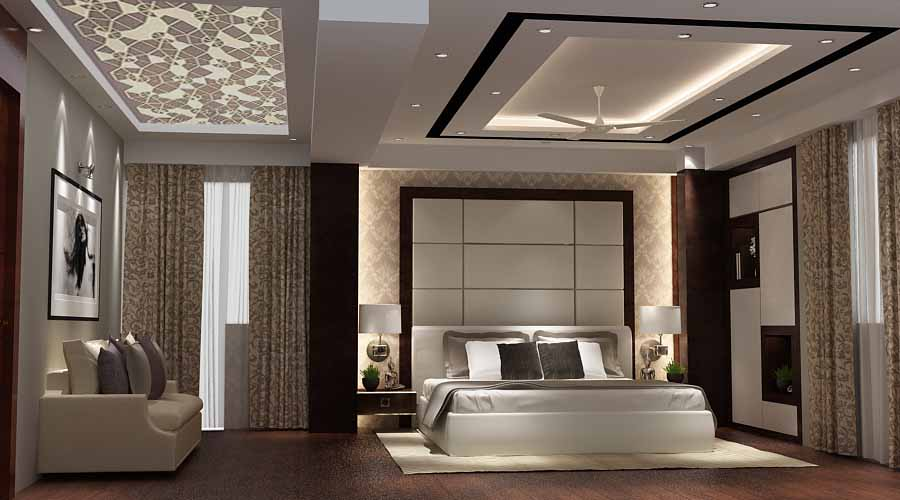 Master bedroom with wooden flooring by SA Design Group Bedroom Modern | Interior Design Photos & Ideas